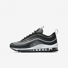 Nike Air Max 97 Lifestyle Shoes Boys Black/Anthracite/White/Pure Platinum 917998-001