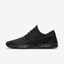 Nike SB Stefan Janoski Max Skateboarding Shoes Mens Black/Anthracite 631303-099