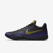 Chaussure de Basket Nike Mamba Rage Homme Noir/Violette/Jaune 908972-024