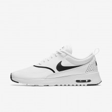 Nike Air Max Thea Lifestyle Shoes Womens White/Black 599409-108