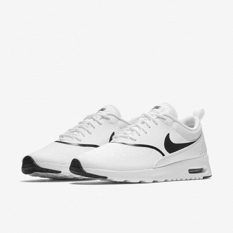 Rabatt Nike Air Max Thea Freizeitschuhe Damen WeißSchwarz