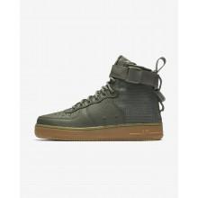Nike SF Air Force 1 Lifestyle Shoes Womens Dark Stucco/Gum Light Brown AA3966-004