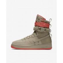 Sapatilhas Casual Nike SF Air Force 1 Homem Caqui/Coral 864024-205