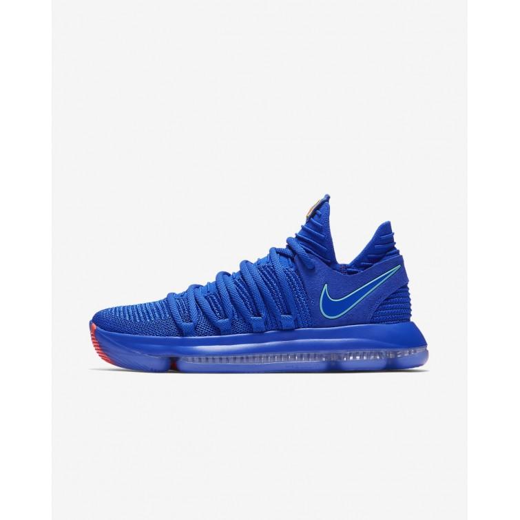 marido arrepentirse expandir  Zapatillas Baloncesto Nike Zoom KDX Mujer Azules/Negras/Claro Outlet España