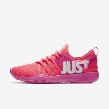 Chaussure De Sport Nike Free Trainer Femme Rose/Blanche 924592-601