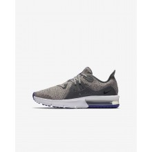 Nike Air Max Sequent Running Shoes Boys Dark Grey/Moon Particle/Persian Violet/Black 922884-004
