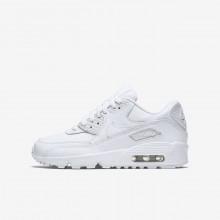 Nike Air Max 90 Lifestyle Shoes Boys White 833412-100