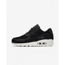 Chaussure Casual Nike Air Max 90 Femme Noir/Grise Foncé 898512-006