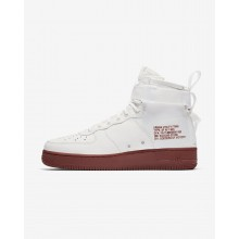 Nike SF Air Force 1 Lifestyle Shoes Mens Ivory/Mars Stone 917753-100