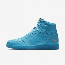 Air Jordan 1 Lifestyle Shoes Mens Blue Lagoon AJ5997-455