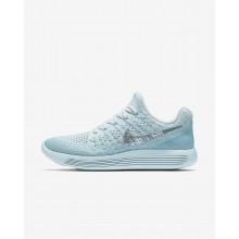 Chaussure Running Nike LunarEpic Low Femme Bleu/Bleu/Grise/Metal Argent 863780-405
