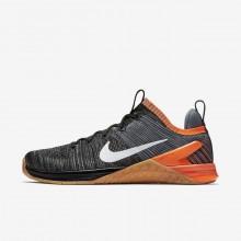 Nike Metcon DSX Training Shoes Mens Black/Hyper Crimson/Light Carbon/White 924423-005