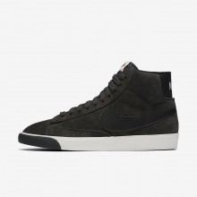 Nike Blazer Mid Lifestyle Shoes Womens Anthracite/Ivory/Gum Medium Brown/Black 917862-003