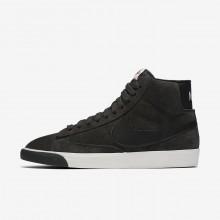 Chaussure Casual Nike Blazer Mid Femme Marron/Noir 917862-003