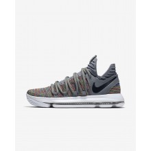 Nike Zoom KDX Basketball Shoes Womens Multi-Color/Cool Grey/White/Black 897815-900