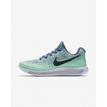 Sapatilhas Running Nike LunarEpic Low Mulher Azuis/Verdes/Verdes/Obsidiana Escuro 863780-403