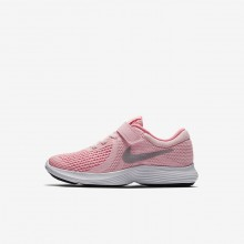 Nike Revolution 4 Running Shoes Girls Arctic Punch/Sunset Pulse/White/Metallic Silver 943307-600