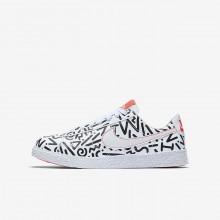 Chaussure Casual Nike Blazer Garcon Blanche/Noir AO1033-100