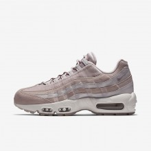 Nike Air Max 95 Lifestyle Shoes Womens Particle Rose/Vast Grey/Summit White AA1103-600