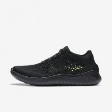 Nike Free RN Running Shoes Womens Black/Anthracite 942839-002