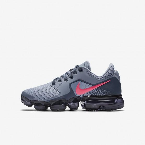 Nike Air VaporMax Running Shoes Girls Dark Sky Blue/Thunder Blue/Midnight Navy/Racer Pink 917962-401