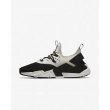 Zapatillas Casual Nike Air Huarache Hombre Negras/Blancas AH7334-002