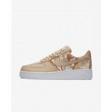 Chaussure Casual Nike Air Force 1 Homme Beige/Orange/Orange 823511-202