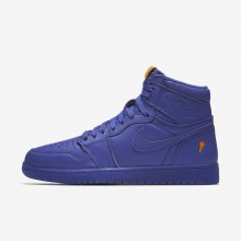 Air Jordan 1 Lifestyle Shoes Mens Rush Violet AJ5997-555