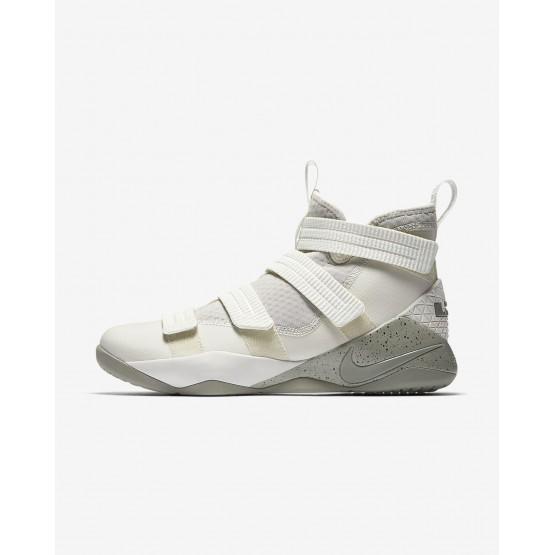 Chaussure de Basket Nike LeBron Soldier XI Femme Clair Noir/Foncé 897646-005