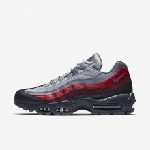 Nike Air Max 95 Lifestyle Shoes Mens Anthracite/Wolf Grey/Team Red/Cool Grey 749766-025