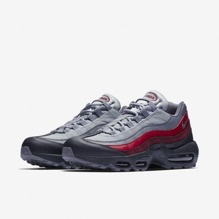 air max 95 gris rouge cheap buy online