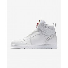 Air Jordan 1 Lifestyle Shoes Womens White/University Red AQ3742-116