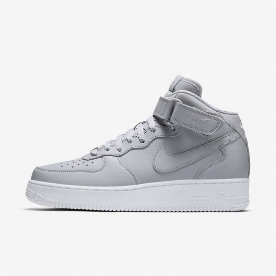 Nike Air Force 1 Lifestyle Shoes Mens Wolf Grey/White 315123-046