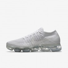 Nike Air VaporMax Running Shoes Womens White/Sail/Light Bone 849557-100