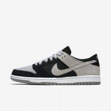 Nike SB Dunk Skateboarding Shoes Mens Black/White/Wolf Grey 854866-001