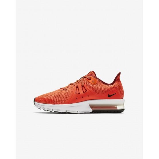 Chaussure Running Nike Air Max Sequent Garcon Rouge/Blanche/Noir 922884-600