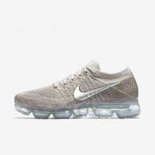 Nike Air VaporMax Running Shoes Womens String/Sunset Glow/Taupe Grey/Chrome 849557-202
