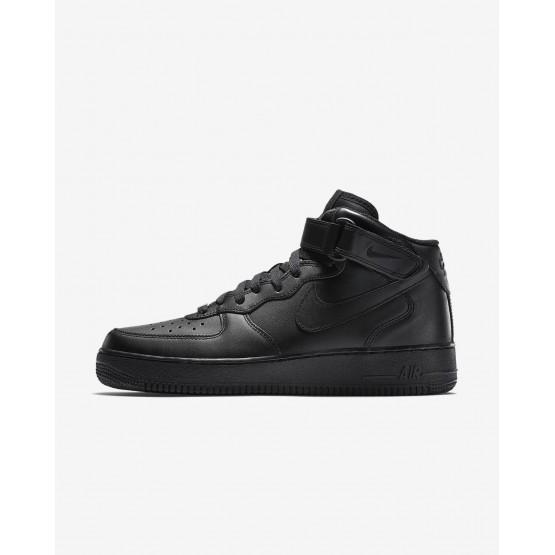 Sapatilhas Casual Nike Air Force 1 Homem Pretas 315123-001