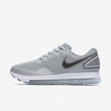 Nike Zoom All Out Running Shoes Womens Wolf Grey/Cool Grey/White/Black AJ0036-005