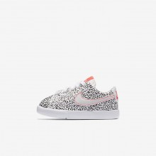 Nike Blazer Lifestyle Shoes Girls White/Black/Bright Crimson AO1035-100