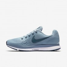 Nike Air Zoom Running Shoes Womens Ocean Bliss/Noise Aqua/Black/Blue Force 880560-408