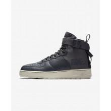 Nike SF Air Force 1 Lifestyle Shoes Mens Dark Grey/Light Bone 917753-004