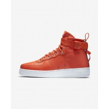 Zapatillas Casual Nike SF Air Force 1 Hombre Naranjas/Negras 917753-800