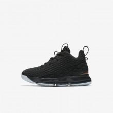 Chaussure de Basket Nike LeBron 15 Garcon Noir/Metal Doré 922812-006