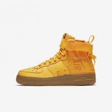 Chaussure Casual Nike SF Air Force 1 Garcon Orange/Marron AJ0424-800