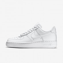 Chaussure Casual Nike Air Force 1 Femme Blanche 315115-112