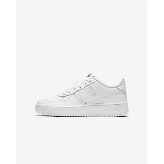 Nike Air Force 1 Lifestyle Shoes Boys Summit White/Black 820438-106