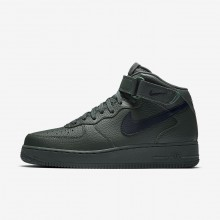 Nike Air Force 1 Lifestyle Shoes Mens Grove Green/Black 315123-303