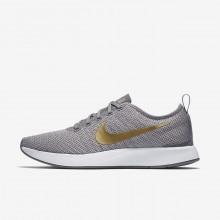 Nike Dualtone Racer Lifestyle Shoes Womens Gunsmoke/Atmosphere Grey/White/Metallic Gold 940418-006