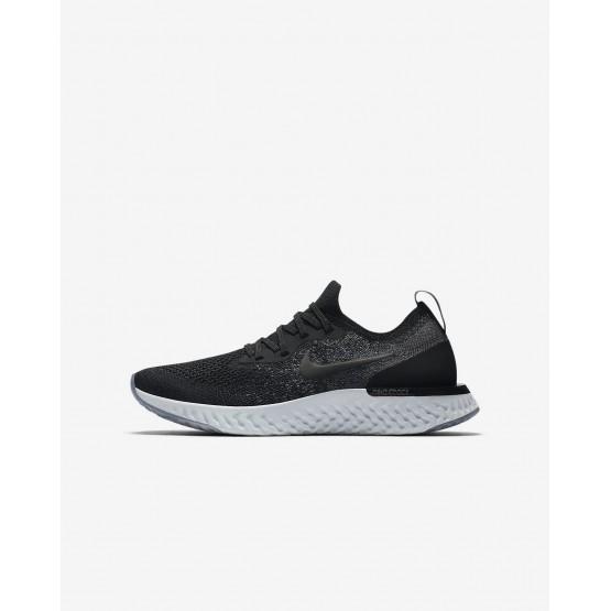 Chaussure Running Nike Epic React Flyknit Garcon Noir/Grise/Grise Foncé/Blanche 943311-001